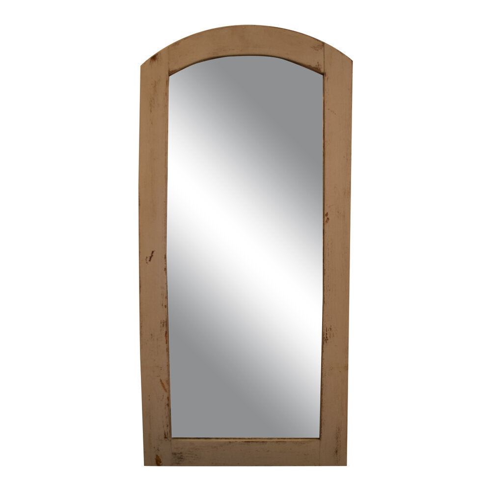 Vintage French Wood Mirror