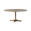 Brass Round Coffee Table