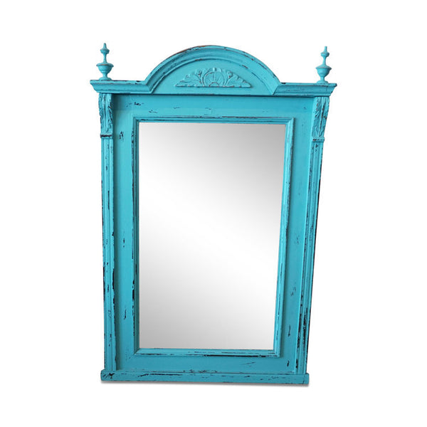 "Vintage Painted Mirror 24""W x 38""H"