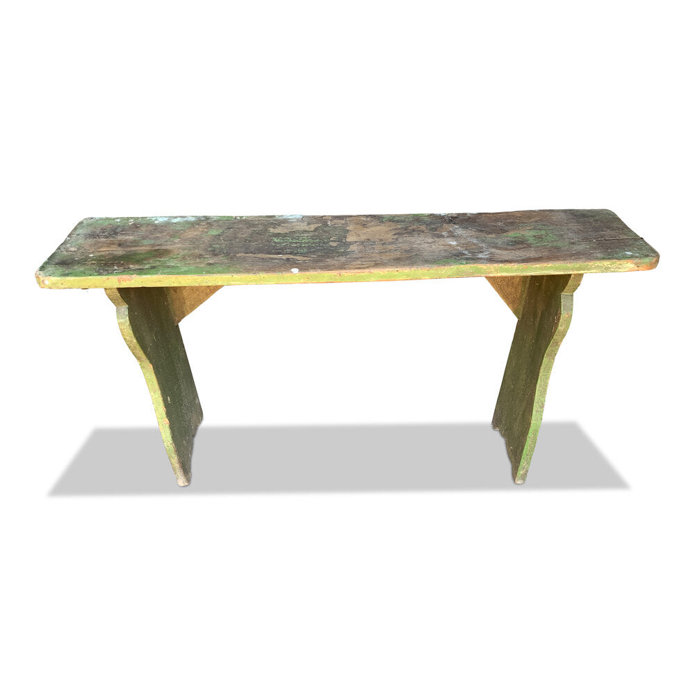 Vintage Farm Bench - SKU 3024