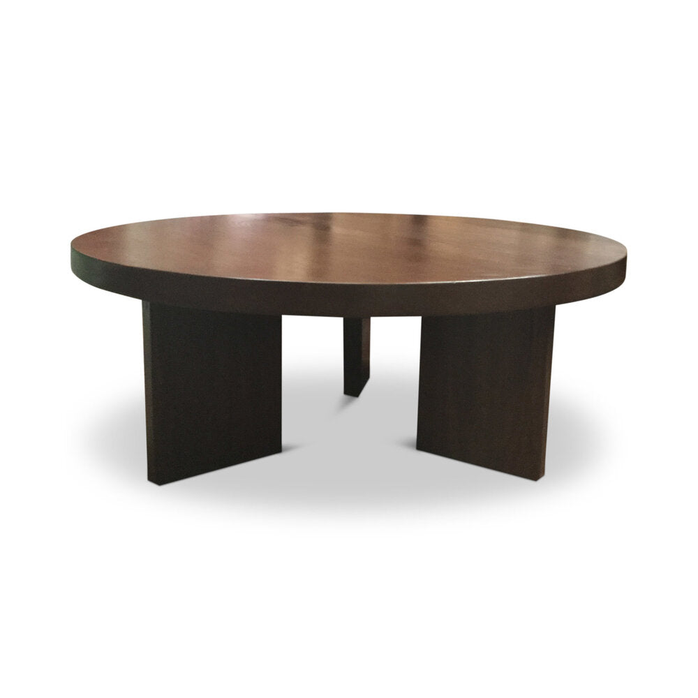 deKor Coffee Table w/Block Legs Diameter: 40"