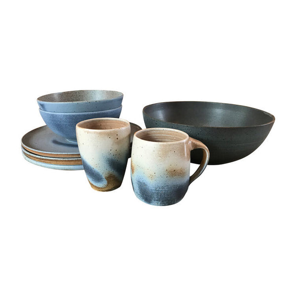Blue Swirl Ceramic Dishes