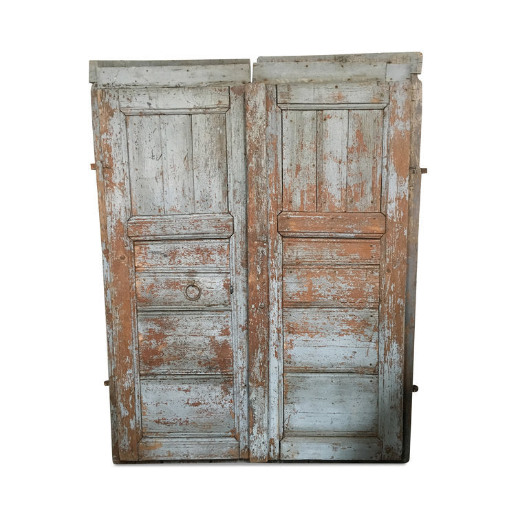 "Vintage European Farmhouse Doors 26""W x 62""H (Each Door)"