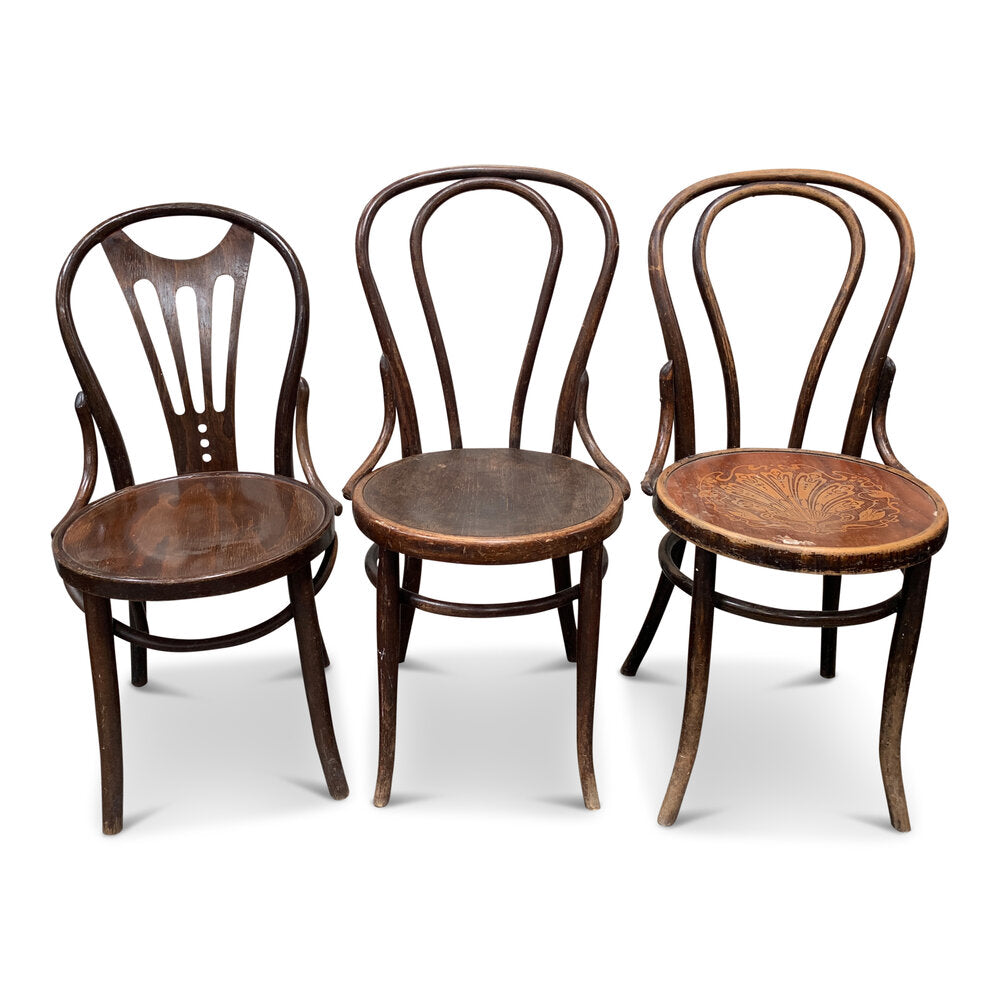 Vintage Bentwood Rustic Dining Chairs