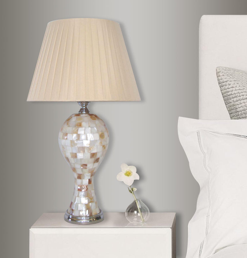 Colorful Shell Mosaic Table Lamp LS-NL10225 - Nusteel