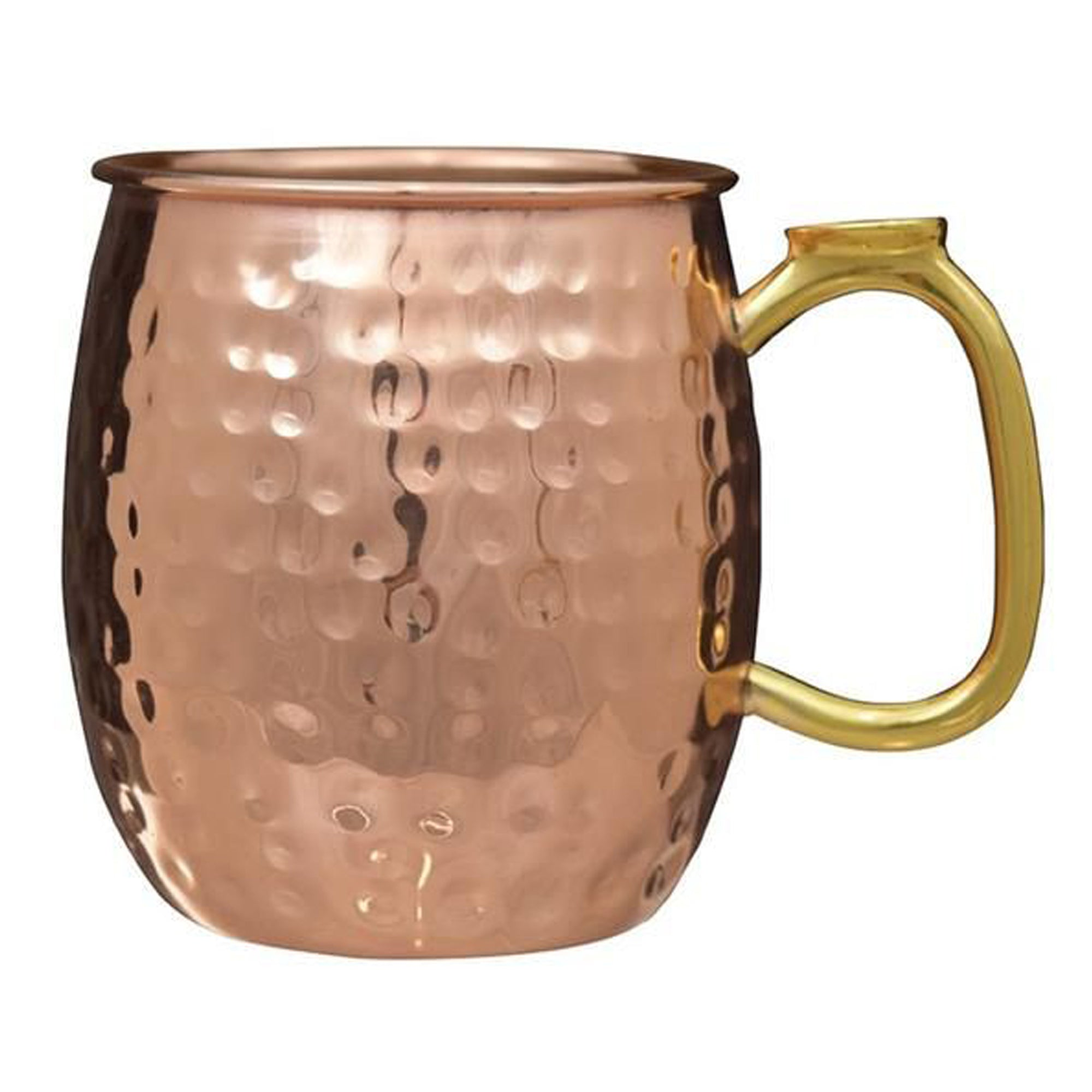 Moscow mule mug - copper plated 22oz hammered MM-51H