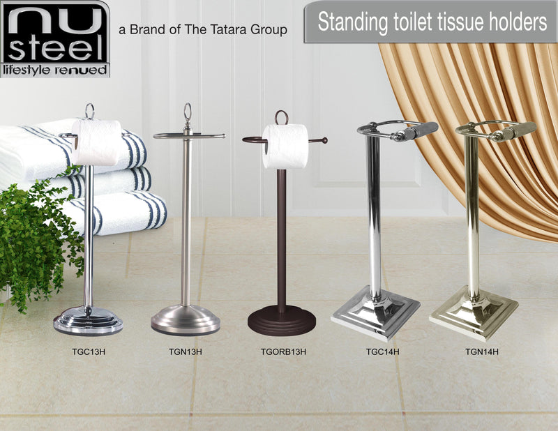 STANDING TOILET TISSUE HOLDERS - Nusteel