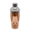 Copper hammered cocktail shaker TG-CS-162CH - Nusteel