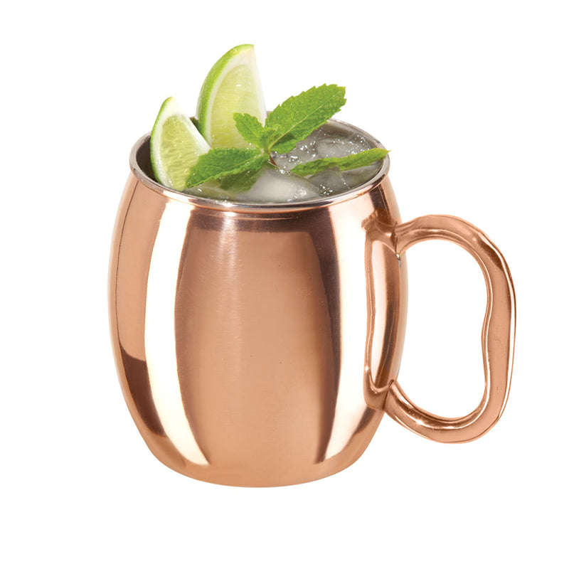 Smooth mules copper plated 16 Oz TG-MM-53