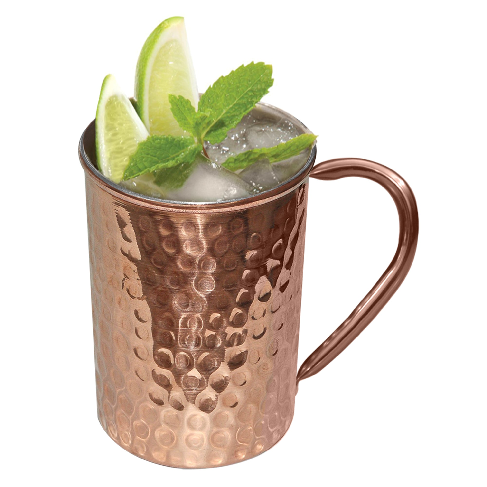 Hammered mule copper lacquered 16 Oz TG-MM-54