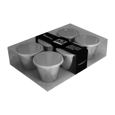 Covered Condiment Cup 6 Pcs Set   New packing TG-SMW-508H - Nusteel
