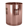 Utensils Holder With Spoon Cutout - Nusteel