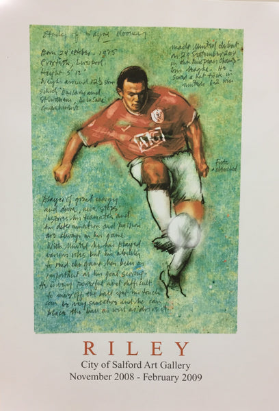 The Beautiful Game Exhibition Poster - Rooney