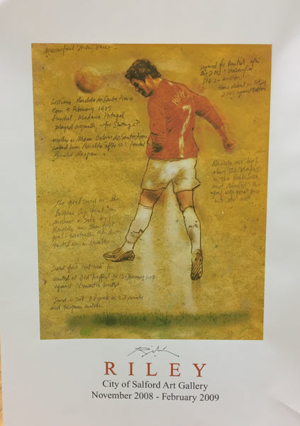 The Beautiful Game Exhibition Poster - Cristiano Ronaldo