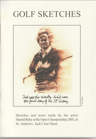 Golf Sketches - Jack Nicklaus