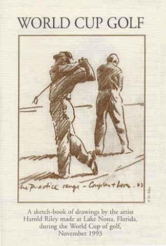 """World Cup Golf"" Limited Edition Sketch-Book"