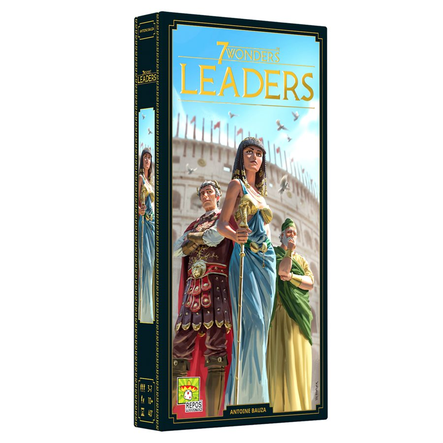 7 Wonders: Leaders (New Edition) | Up North Games