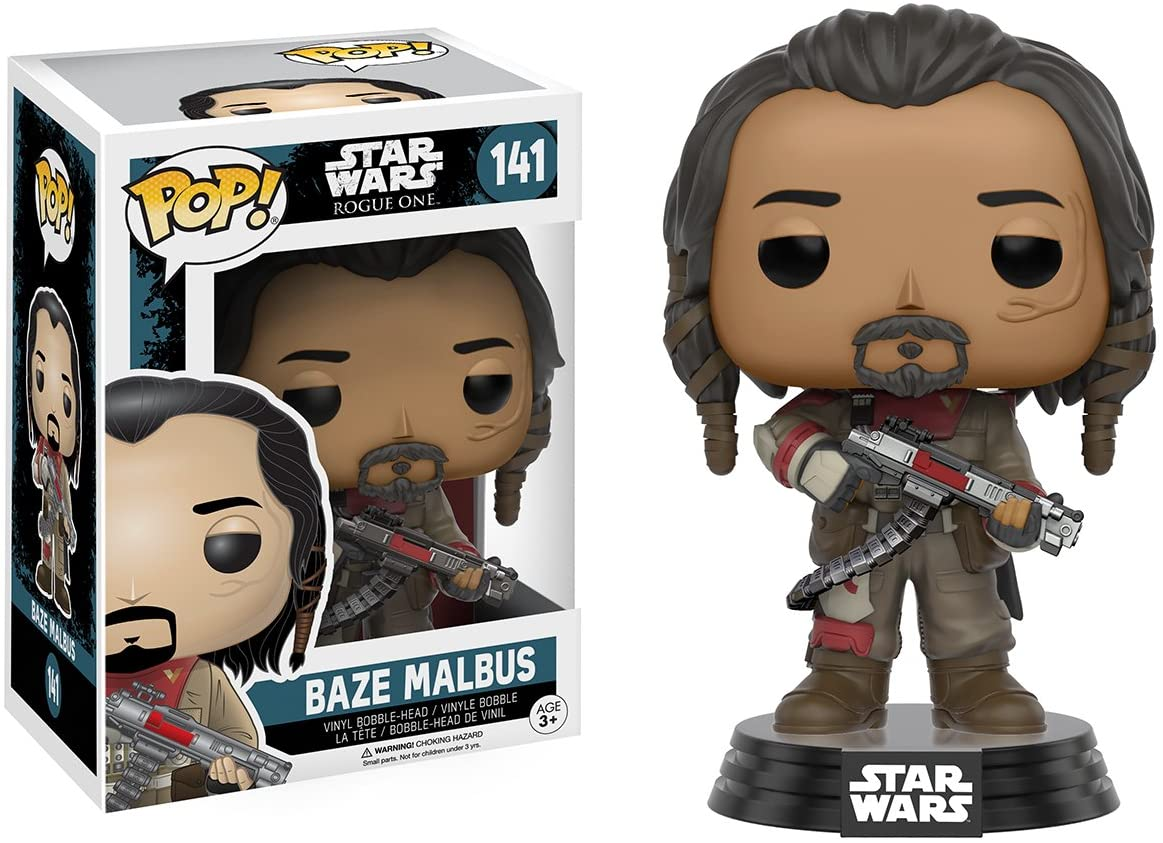 Pop! Star Wars: Rogue One - #141 Baze Malbus | Up North Games