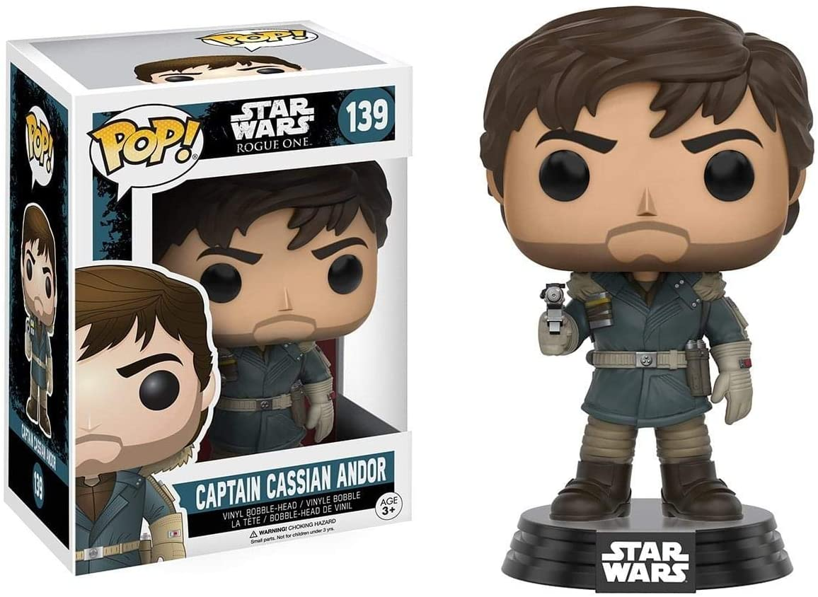 Pop! Star Wars: Rogue One - #139 Captain Cassian Andor | Up North Games