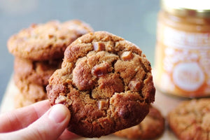 White Chocolate Bisc-offy Cookies