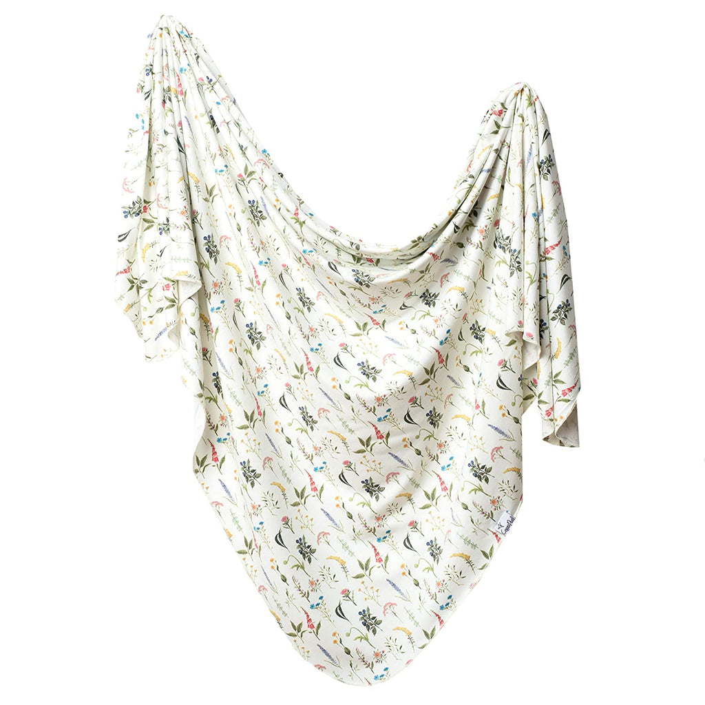 Aspen Knit Swaddle Blanket The Toggery