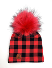 Load image into Gallery viewer, Slouchy beanies Plaid