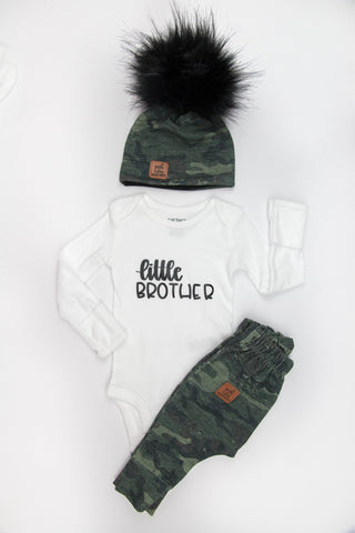 Take home baby outfit Camo