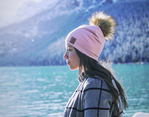 3 Season Toque vintage pink