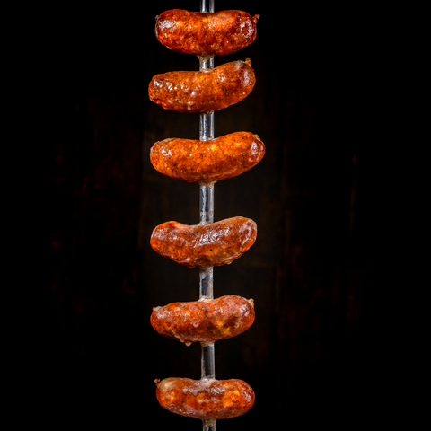 Brazilian Pork and Cheese Sausages