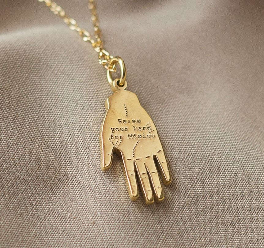 Raise Your Hand Pendant