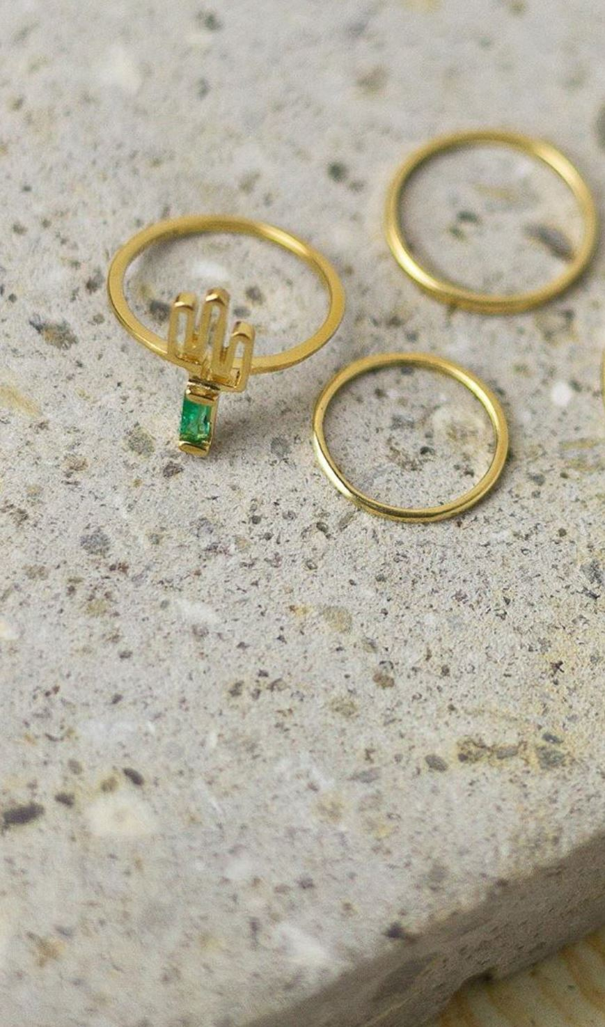 Cactus Ring 3 pieces