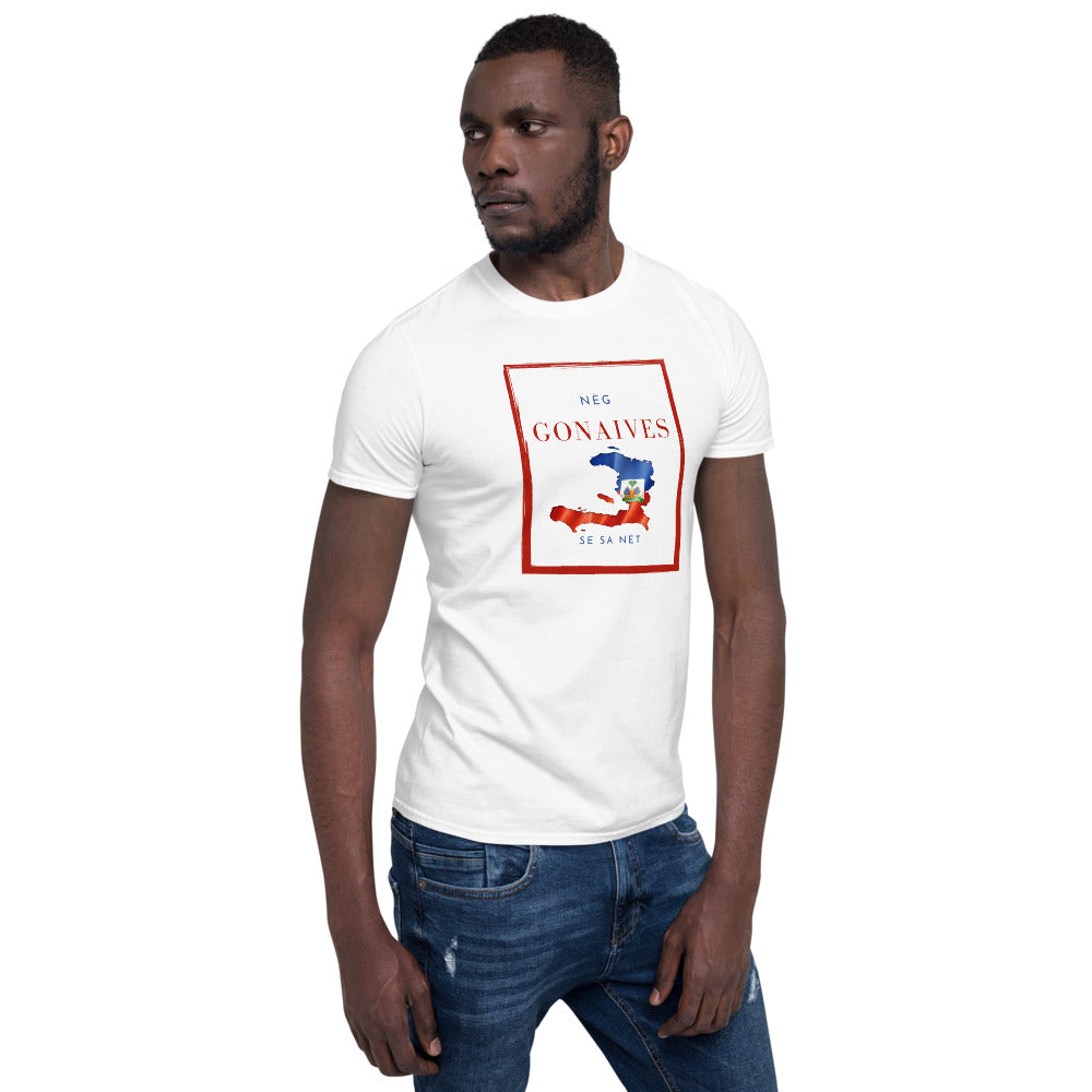 Nèg GONAIVES Short-Sleeve Unisex T-Shirt