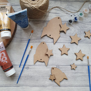 Mindfulness Rocket Bunting Craft Pack