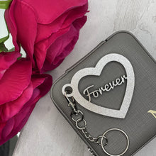 Load image into Gallery viewer, Heart Key Chain Bag Tags