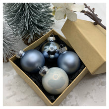 Load image into Gallery viewer, Personalised Miniature Christmas Baubles - 4 or 8 Pack