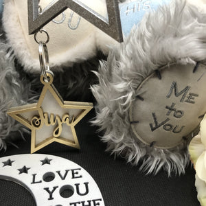 Our Shining Star Personalised Keyring