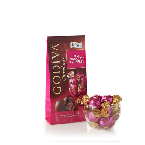 Godiva - Wrapped Milk Chocolate Truffles, Large Bag, 19 pc. #6124704