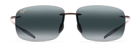 Maui Jim - BREAKWALL Polarized Rimless Sunglasses