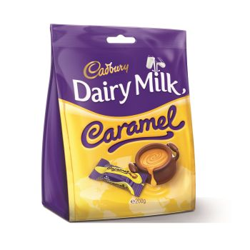 Cadbury Caramel Chunks Bag 200g #6099189
