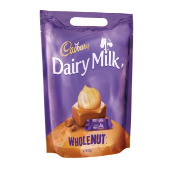 Cadbury Whole Nut Chunks Bag 400g #6099191