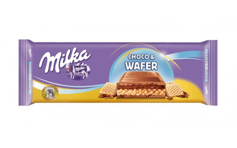 Milka Chocolate Wafer Tablet 300g #6108322