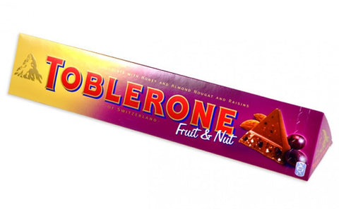 Toblerone Fruit & Nut Bar 360g #6127333