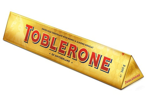 Toblerone Gold Milk Bar 360g #6099178