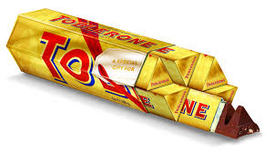 Toblerone Gold Milk Bar 6x100g #6099174