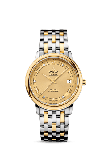 Omega - De Ville  Prestige Co-Axial Chronometer  424.20.37.20.58.002