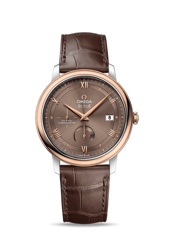 Omega- De Ville Prestige Co-Axial Chronometer Power Reserve 424.23.40.21.13.001