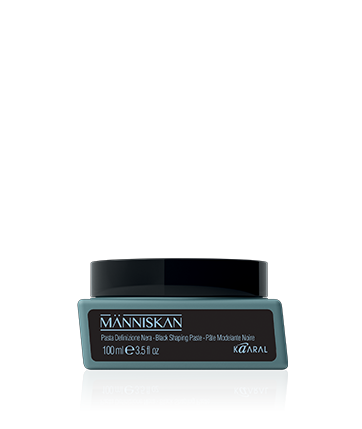 Manniskan Black Shaping Paste