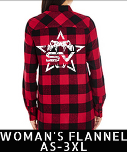 SV Woman's Flannel Shirt