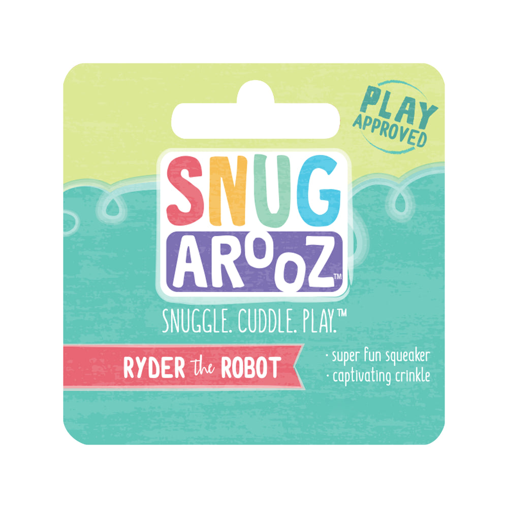 Snugarooz Ryder the Robot