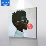 AfroBubblegum Canvas Art